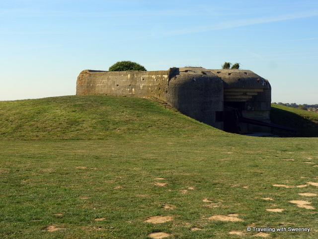 German bunker at Longues-sur-Mer
