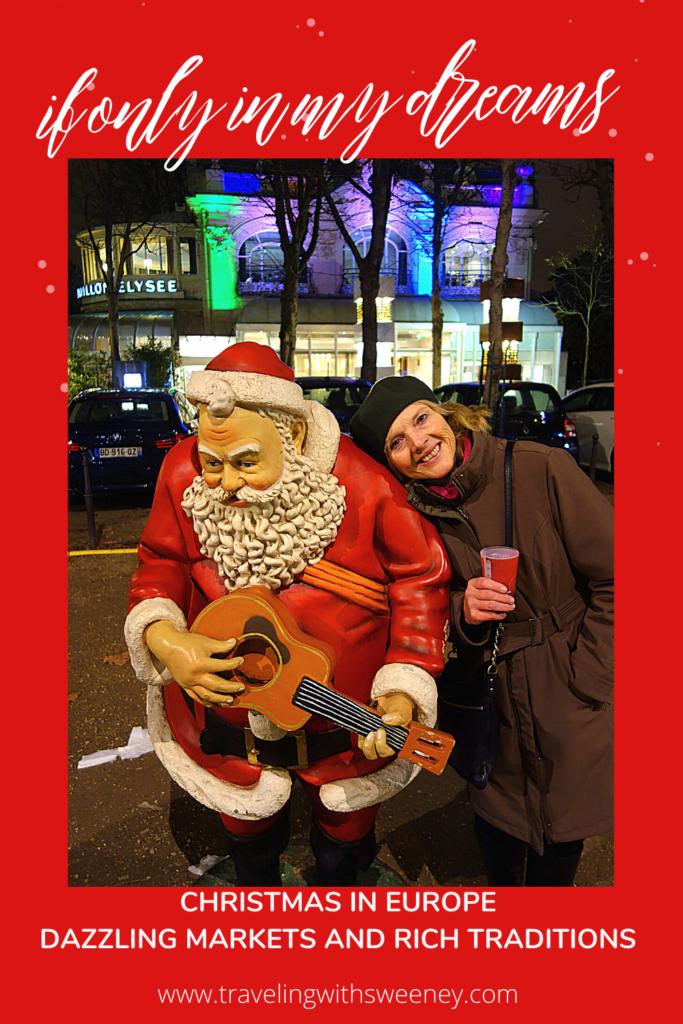 Christmas in Paris - with Santa Claus on the Avenue des Champs-Élysées