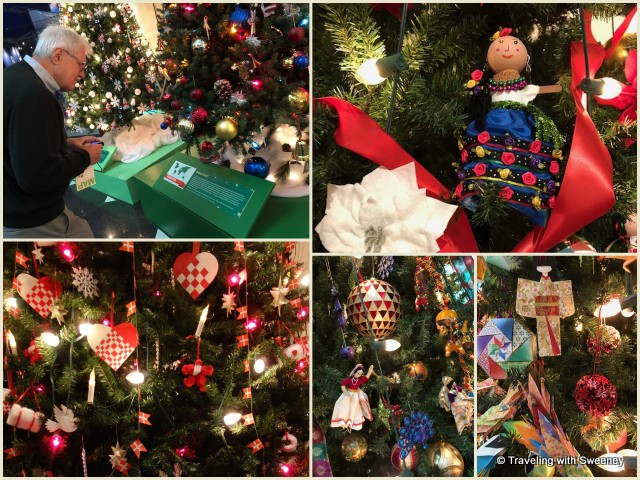 """""""Christmas Around the World"""" exhibit at the Museum of Science and Industry in Chicago"""
