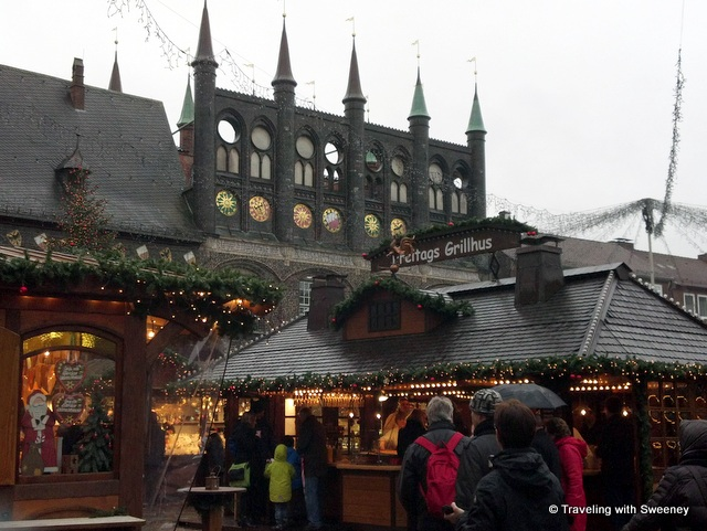Christmas Market, Lübeck, Germany