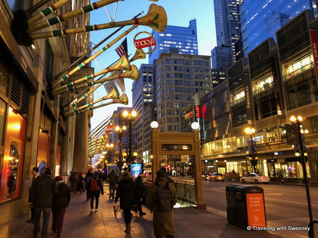 Macy's, formerly Marshall Field's on State Street in the Chicago Loop