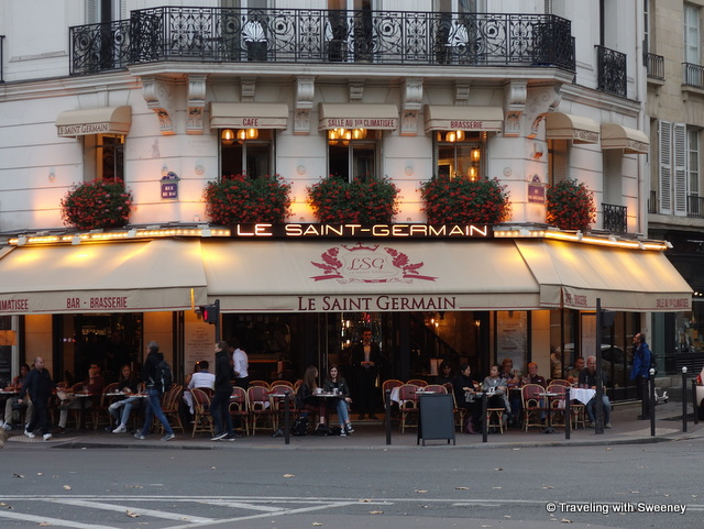Le Saint Germain in the 7th arrondissement in Paris, France