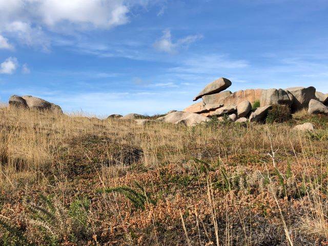 A Walk on the Pink Granite Coast of Brittany