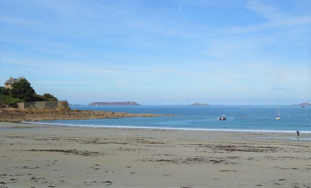 Trestraou Beach of Perros-Guirec in Brittany
