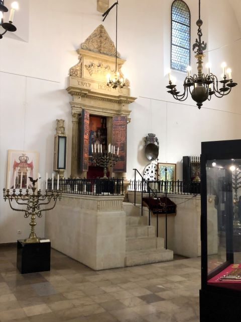 Inside the Jewish Museum of the Old Synagogue in Krakow, Poland