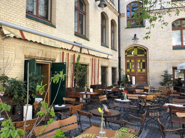 Restaurant in Four Denominations District of Wroclaw, Poland