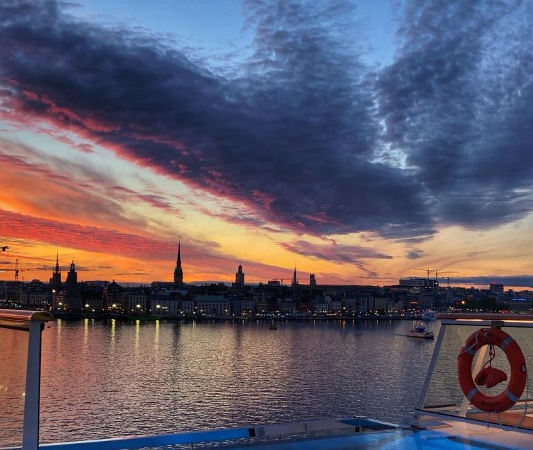 Sunset in Stockholm and Other Baltic Cruise Highlights