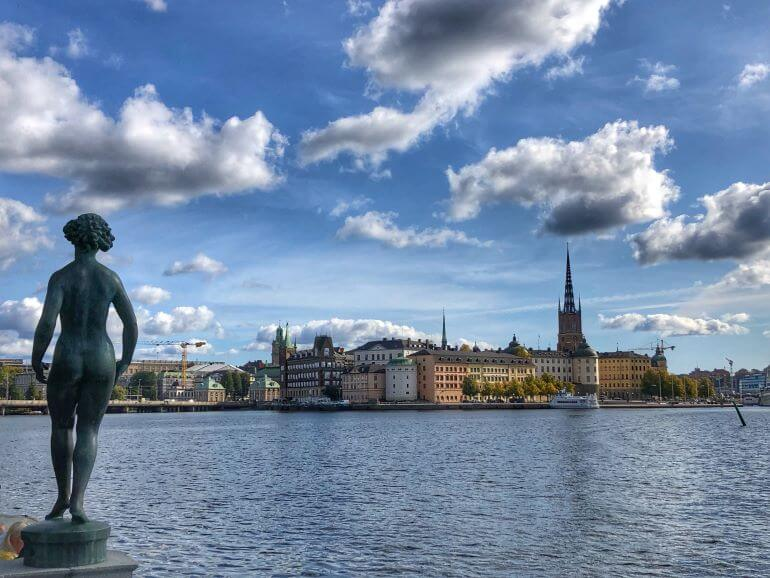 Stockholm, Sweden on a shore excursion with Viking Cruises