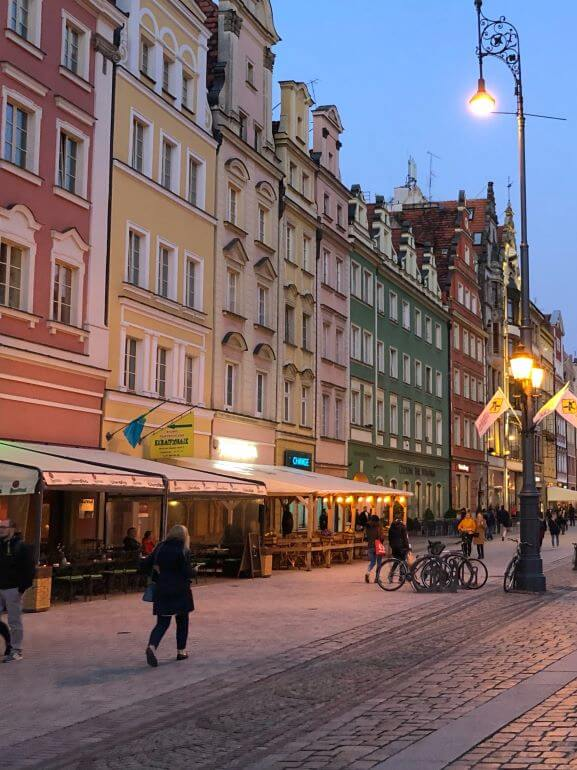 Old Town's Market Square, Wroclaw, Poland