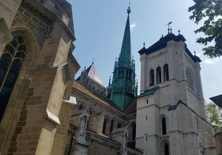 St. Peter's Cathedral in Geneva, Switzerland -- Photo Credit-Deborah Grossman