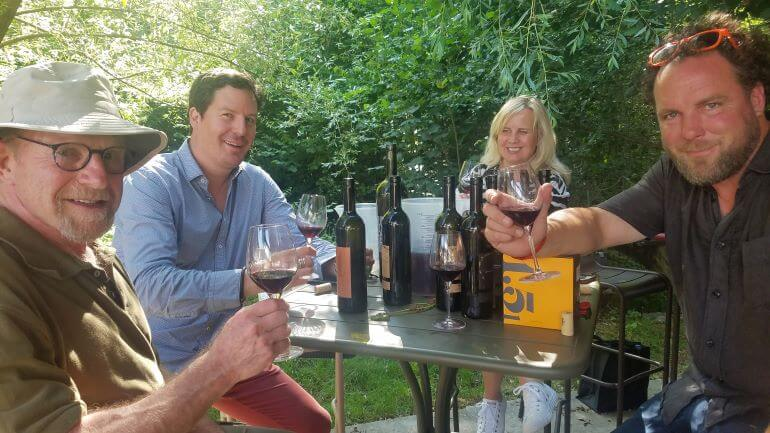 Wine Tasting At Stephane Gros winery, Geneva, Switzerland -- Photo Credit -- Deborah Grossman