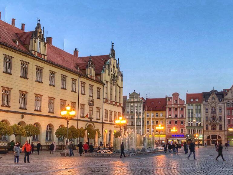Market Square -- Wroclaw, Poland