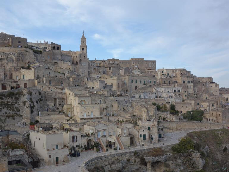 Ancient cave dwellings of Matera, Italy