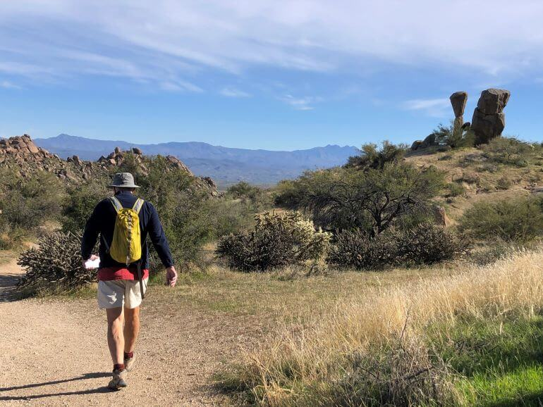 Scottsdale Hikes: Marcus Landslide Trail at Tom's Thumb