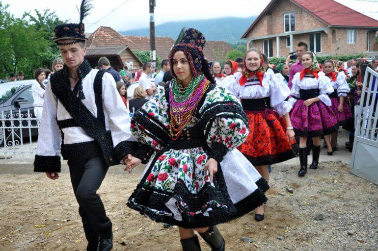 Traditional country wedding in Romania -- Photo by Barbara Nelson