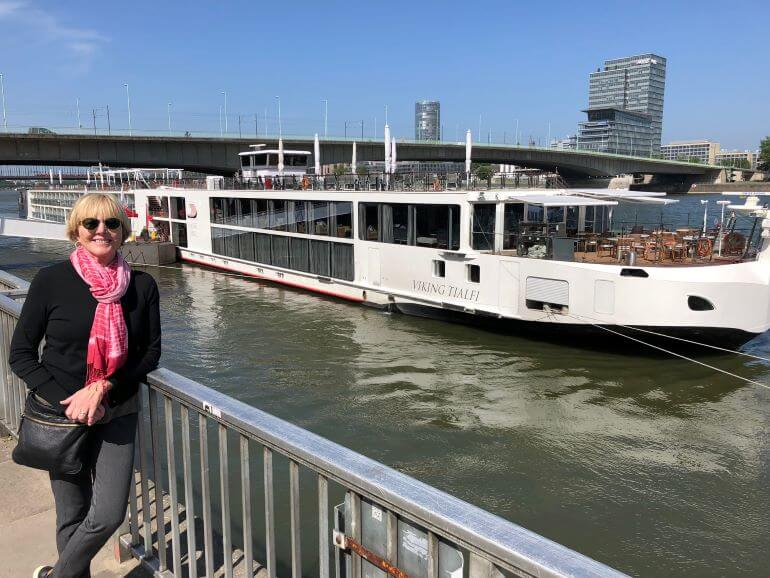 Disembarking the Tialfi for a walking tour of Cologne, Germany