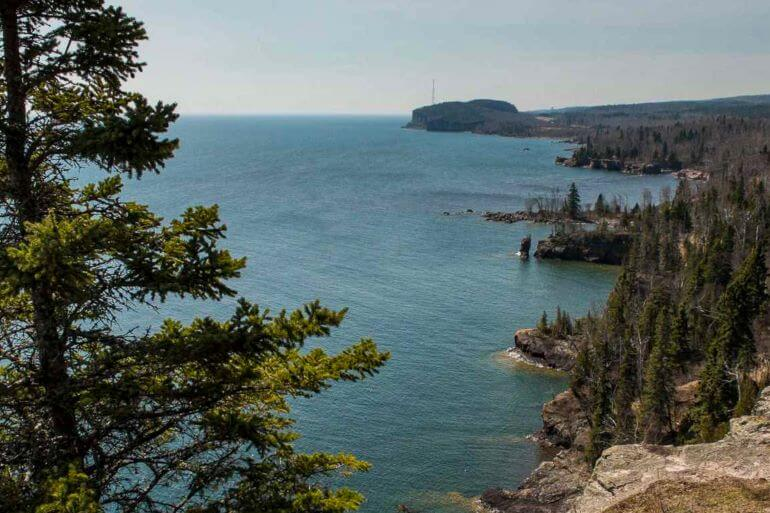 Palisade Head on North Shore of Lake Superior -- Photo courtesy of Kristin Henning