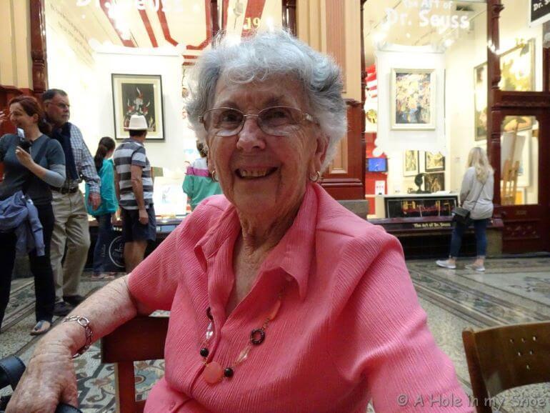Lyn Baker's mother -- Photo courtesy of Lyn Baker