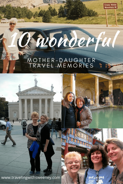 Women in travel share their mother-daughter travel experiences
