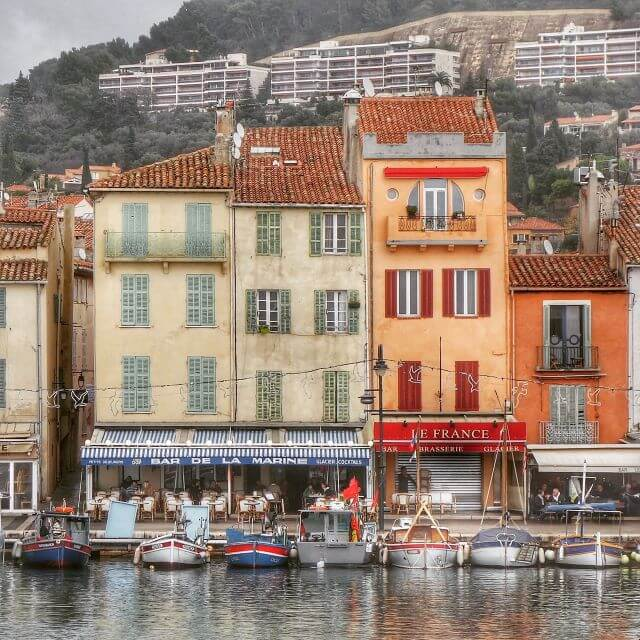 Cassis, France -- a charming village on the southern coast of France in Provence