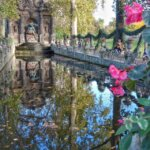 Medici Fountain at Luxembourg Gardens in Paris, France