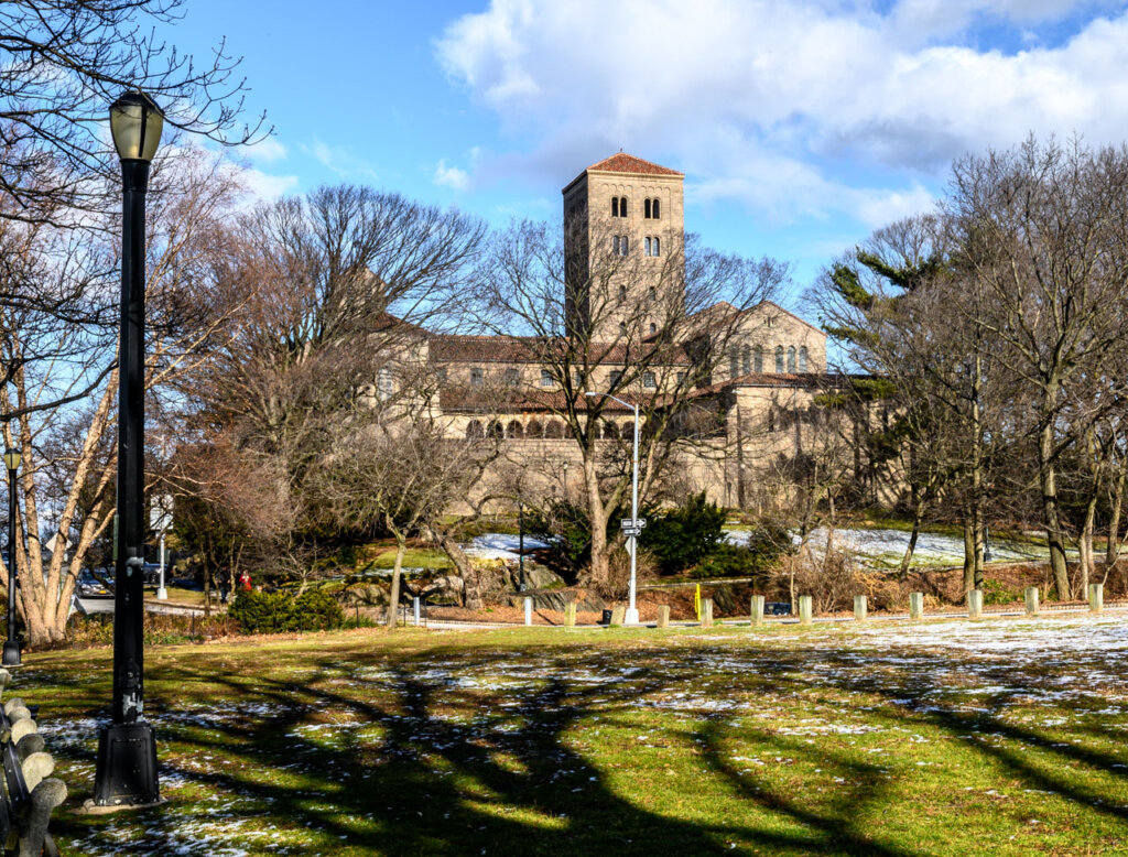The Cloisters at Fort Tryon Park in northern Manhattan, New York City -- photo courtesy of Barbara Nelson