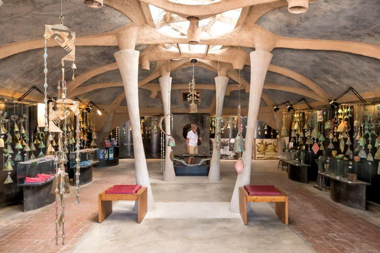Cosanti showroom -- Photo courtesy of Experience Scottsdale