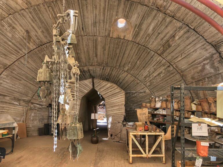 Studio at Cosanti Originals in Paradise Valley, Arizona
