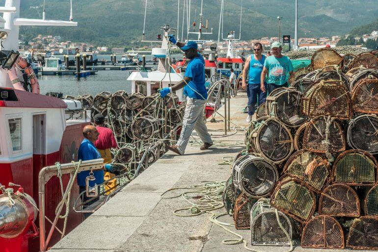 Galician fishing village -- Photo courtesy of Barbara Nelson