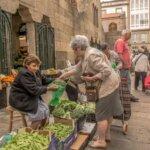 Women at Mercado de Abastos in Santiago de Compostela -- Photo courtesy of Barbara Nelson