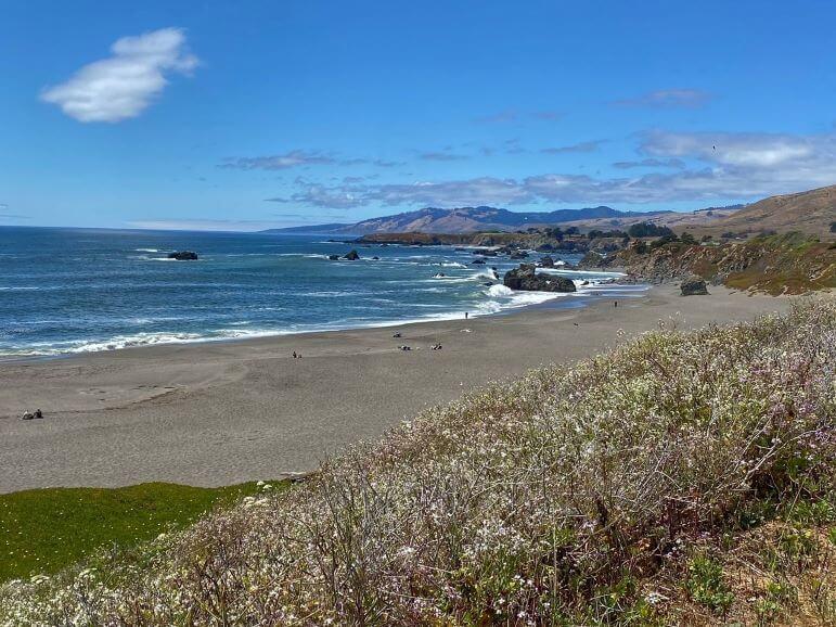 Sonoma coast -- Portuguese Beach, Sonoma County, California