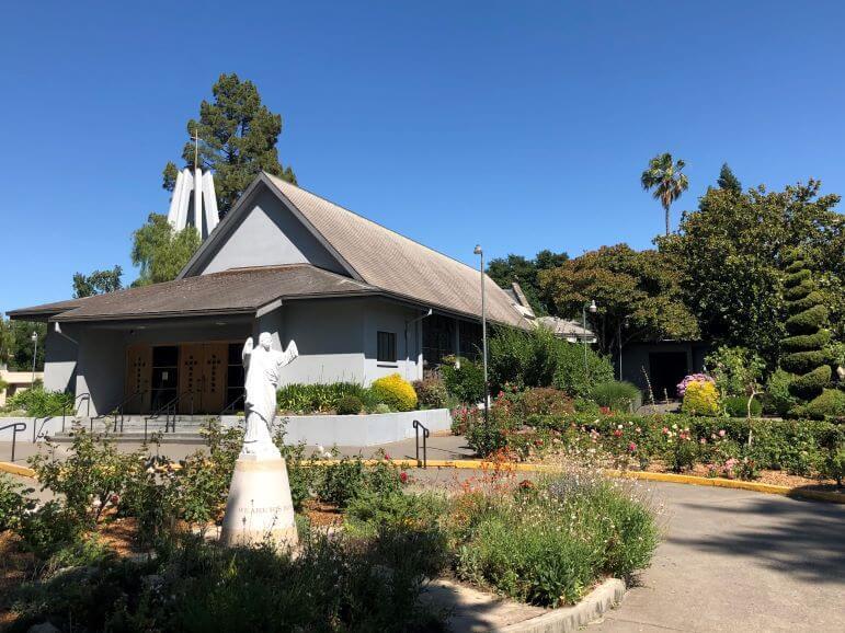 St Rose of Lima Church in Santa Rosa, California
