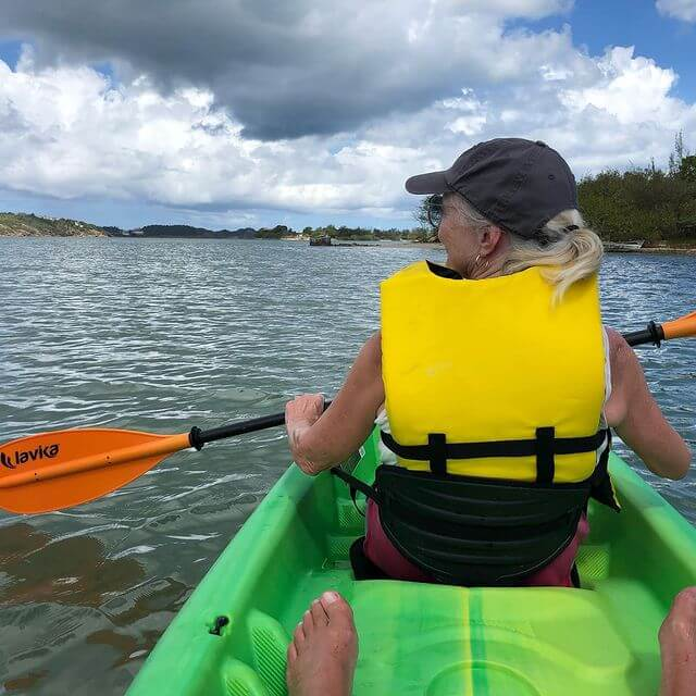 Kayaking with Trifle Excursions Antigua