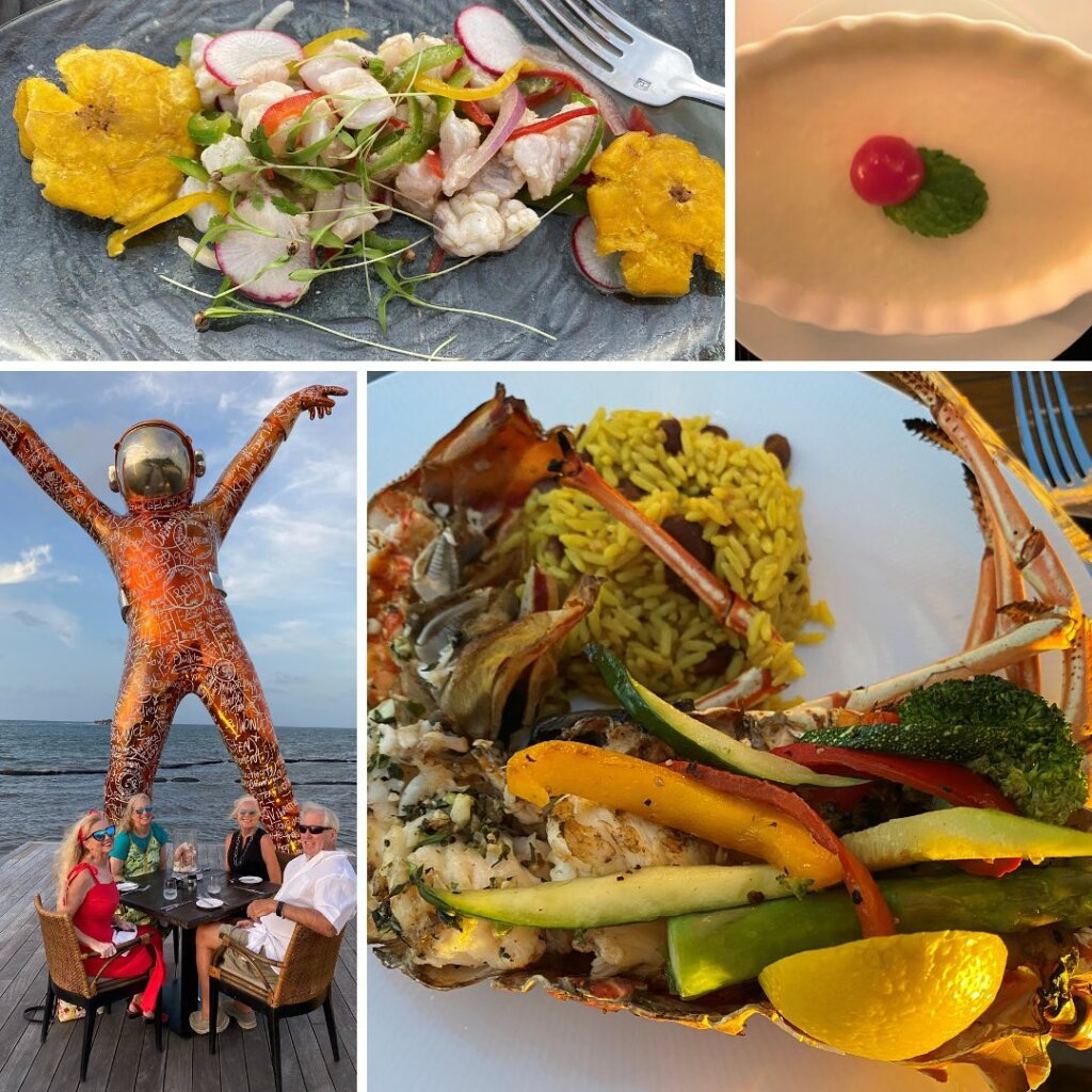 Farewell dinner at Hodges Bay Resort and Spa, Antigua