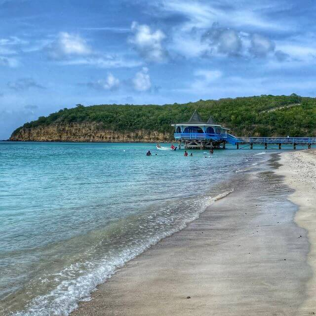 Dickenson Bay Beach, Antigua