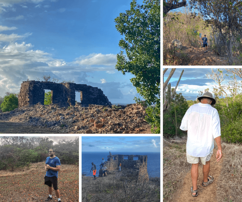Walking with the Hash House Harriers of Antigua