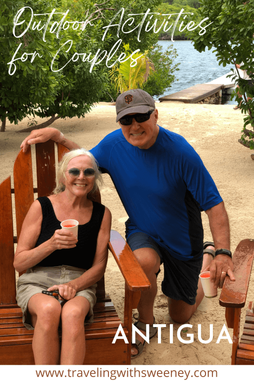 The Traveling with Sweeney duo in Antigua